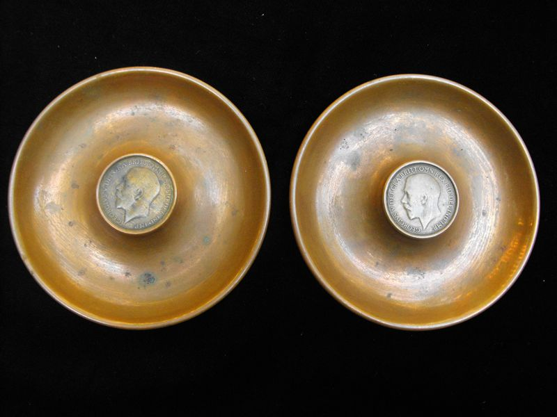 Coin/Change Trays WW1 Trench Art