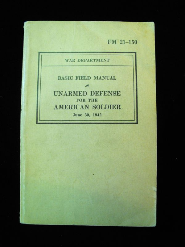 1942 US Servicemen Self Defence Manual