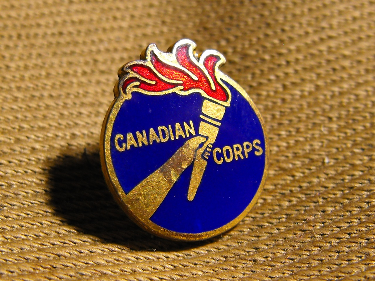 Canadian Corps Pin (WW1)