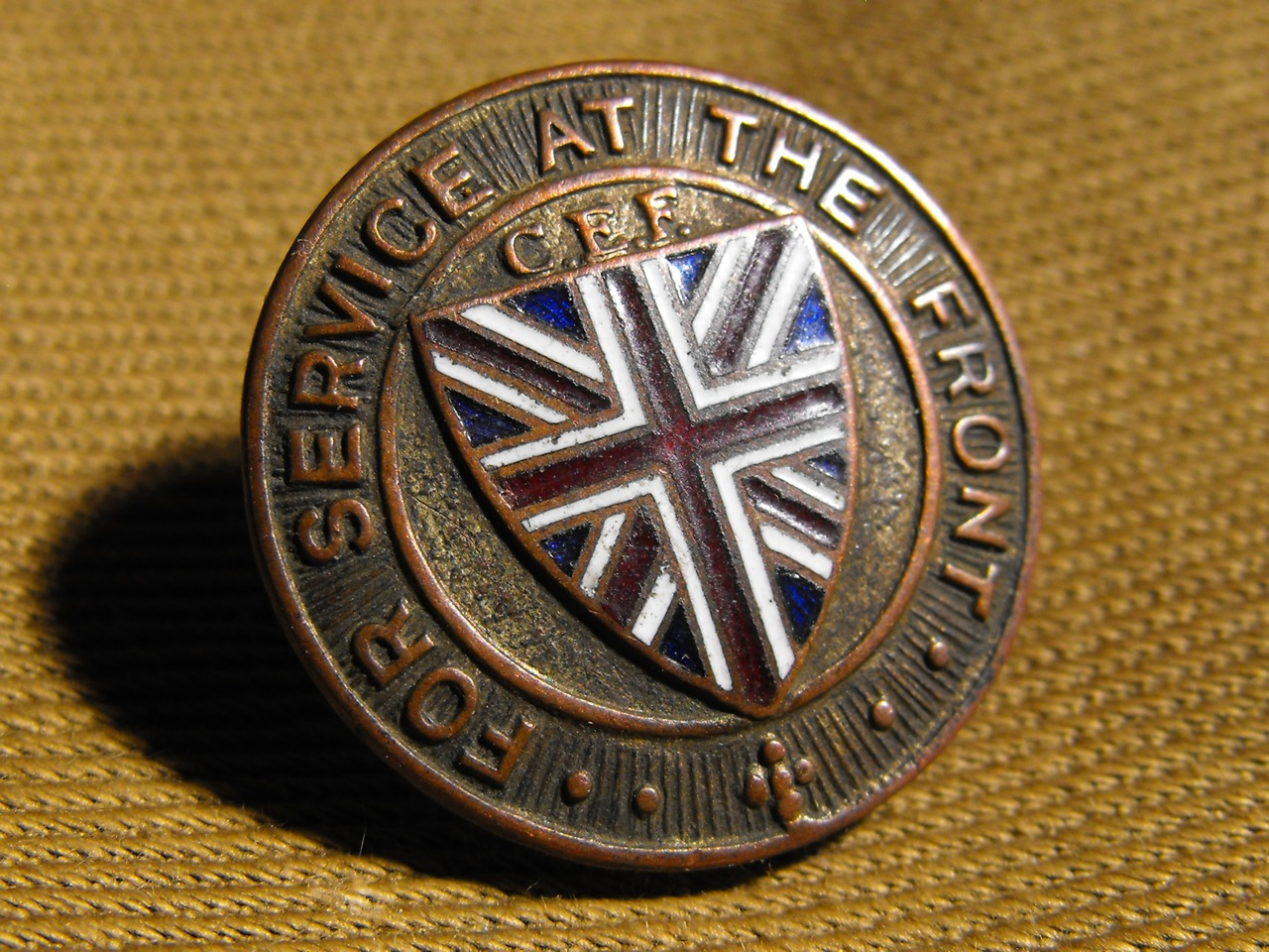 For Services at the Front (no date)
