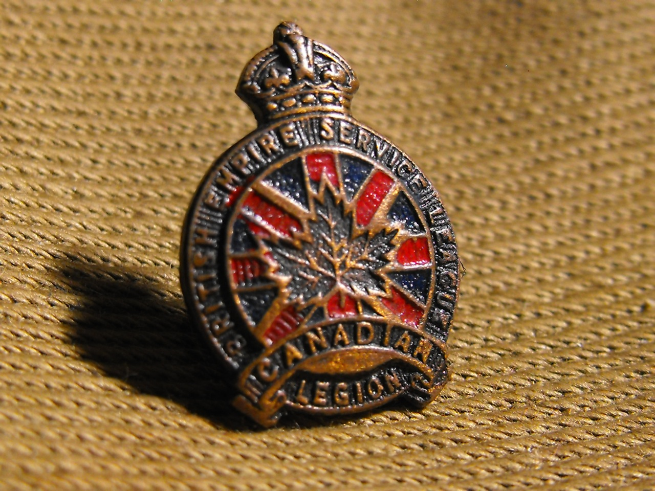 British Empire Service League Pin