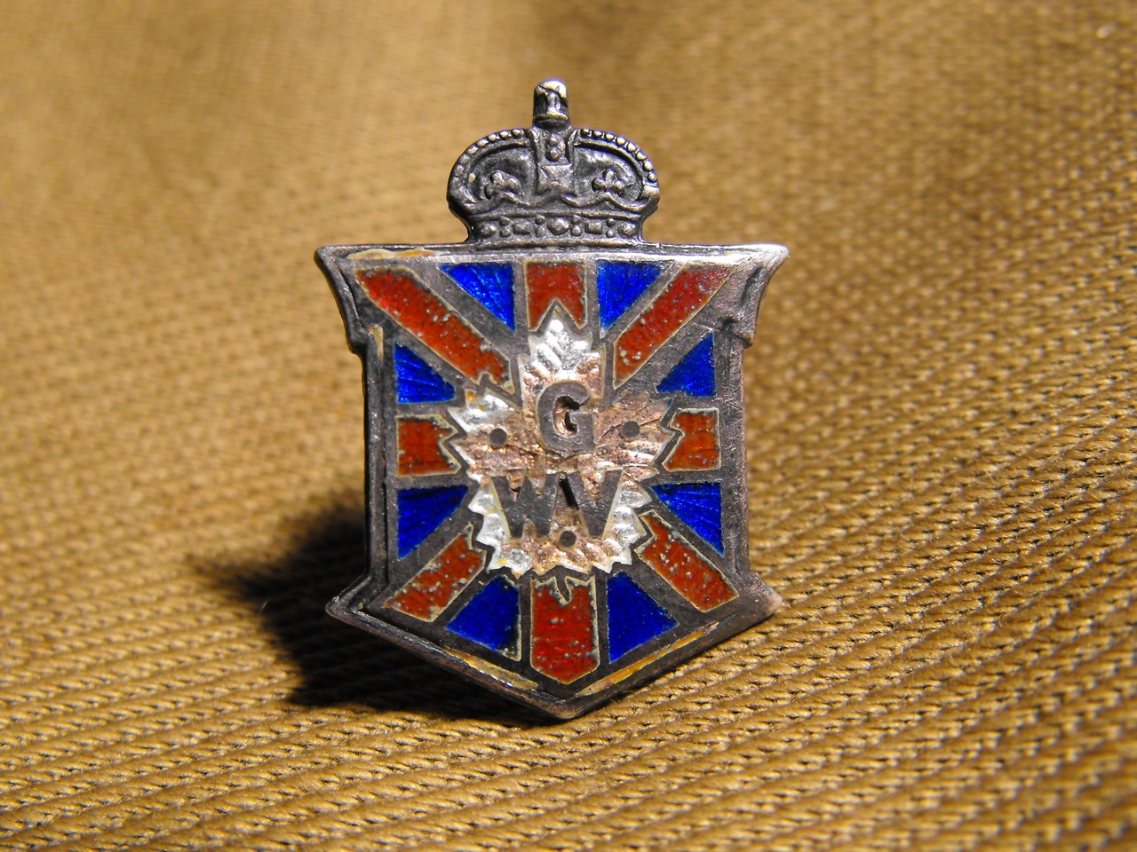 Great War Veteran Pin