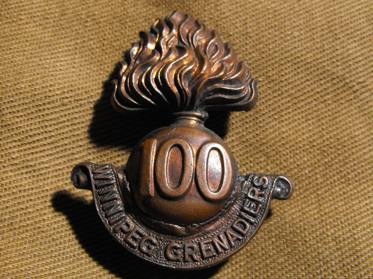 100th Btn Winnipeg Grenadiers