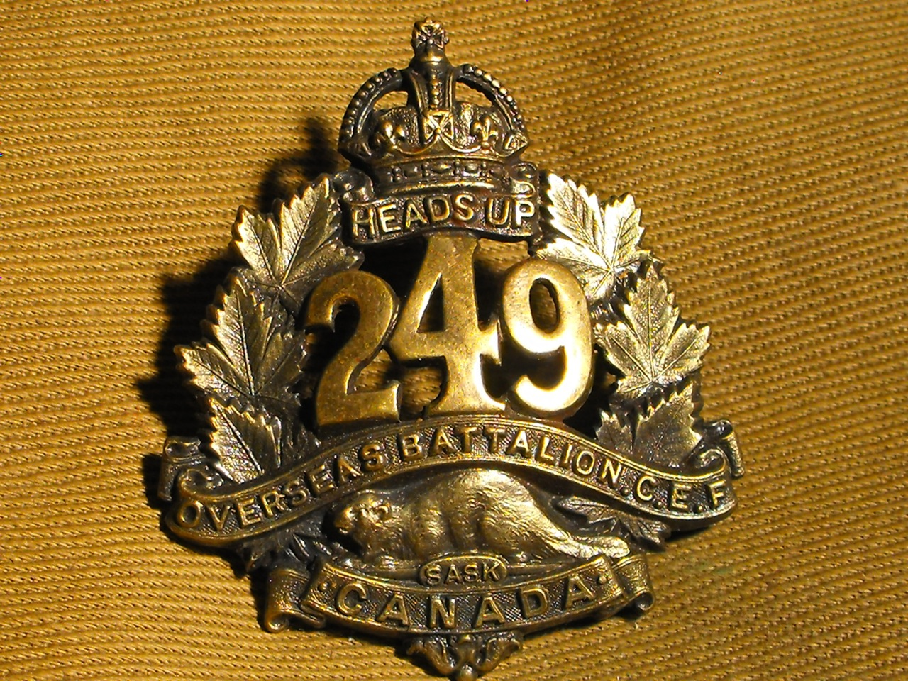 249th Battalion, Regina