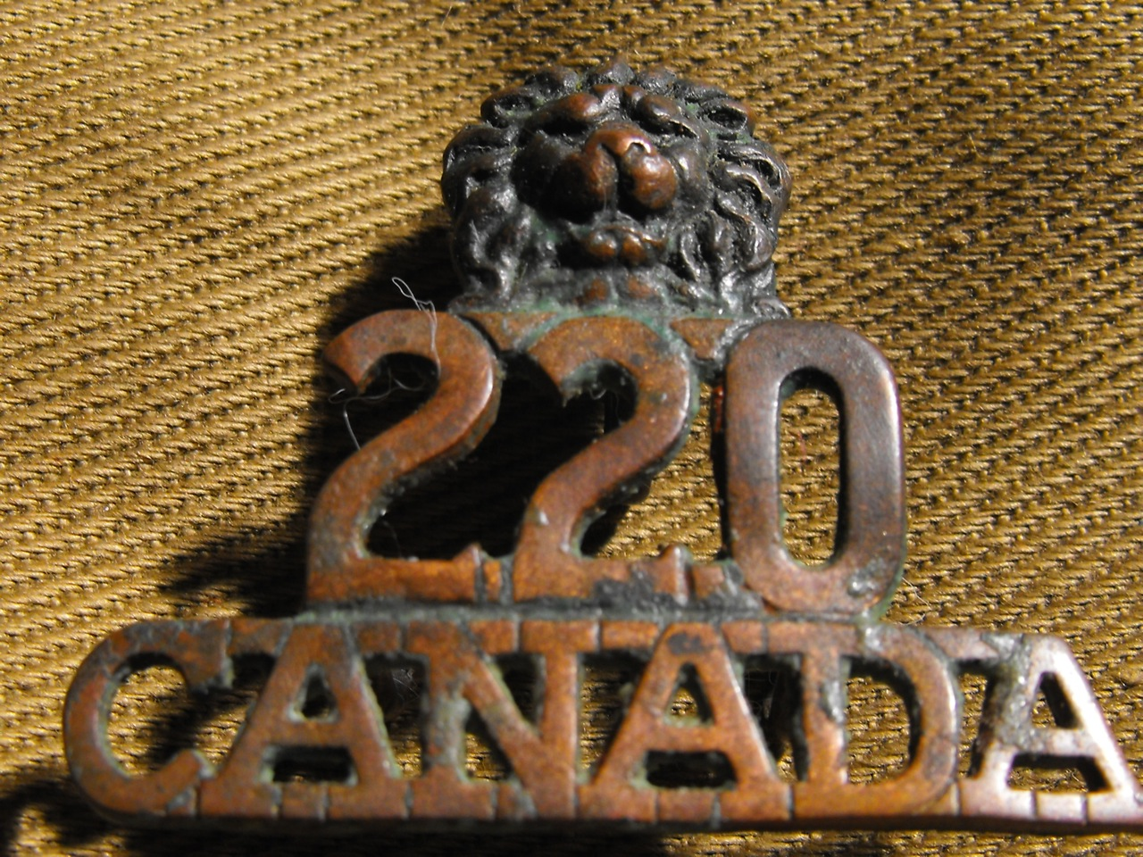 220th Shoulder Title