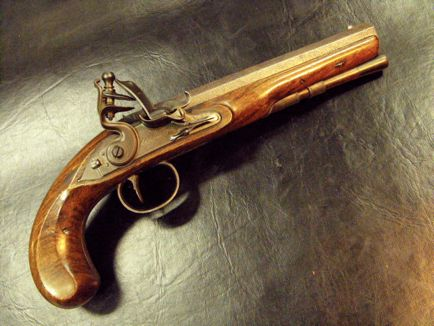 50 Caliber Flintlock, Wogdon of London
