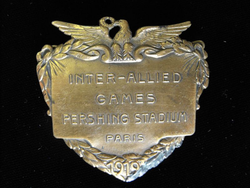 Inter-Allied Games Badge