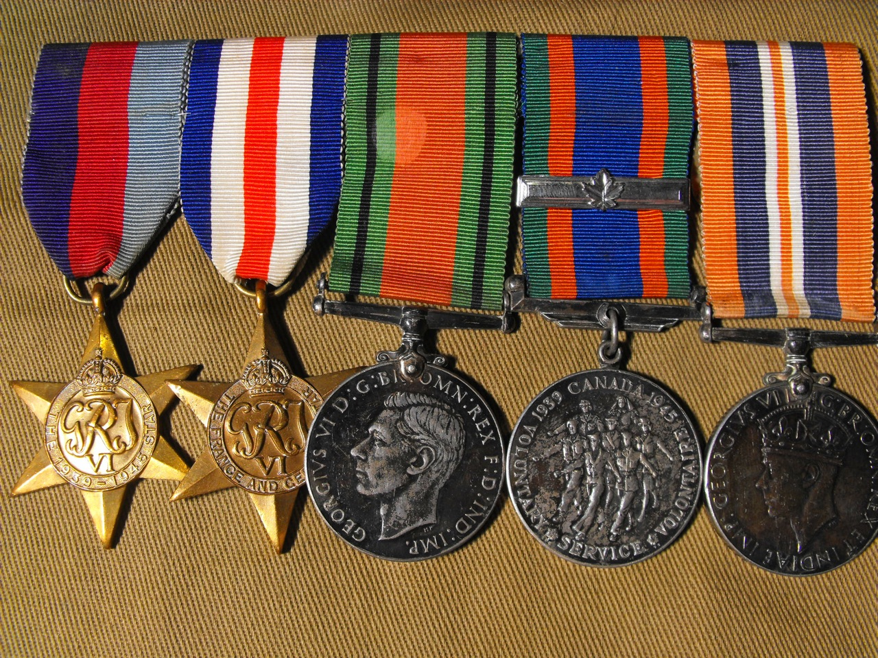 WW2 Medal Grouping of 5