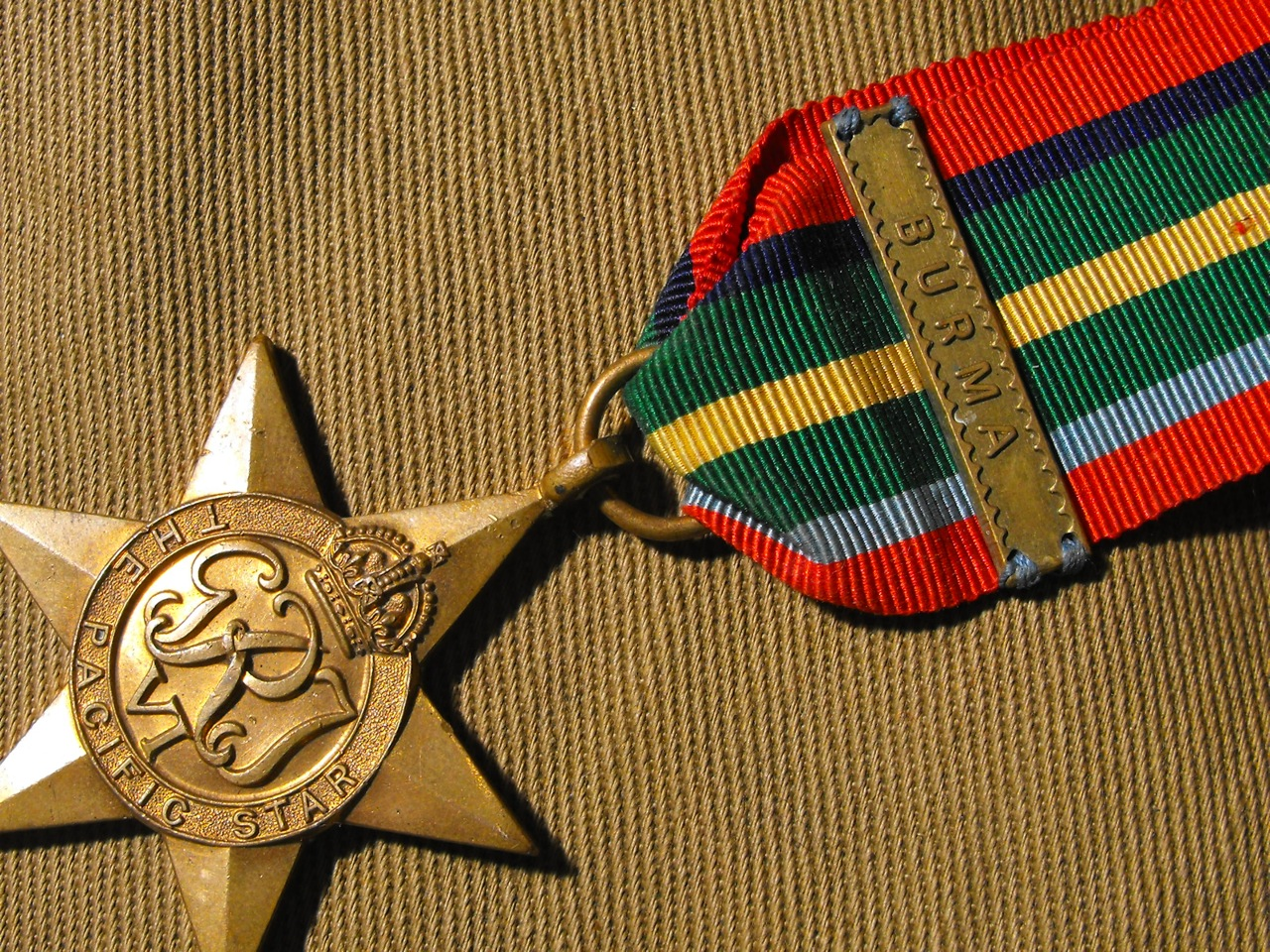 Pacific Star Medal with Burma Bar